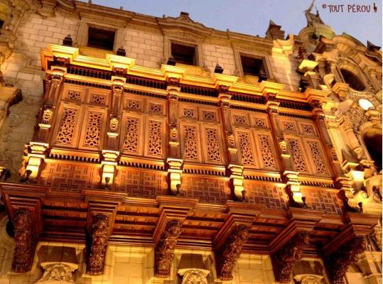 Balcons Cathédrale Lima Forum Blog Tout Pérou