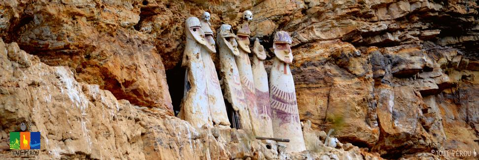 Les mystérieux sarcophages de Karajia Chachapoyas au Pérou