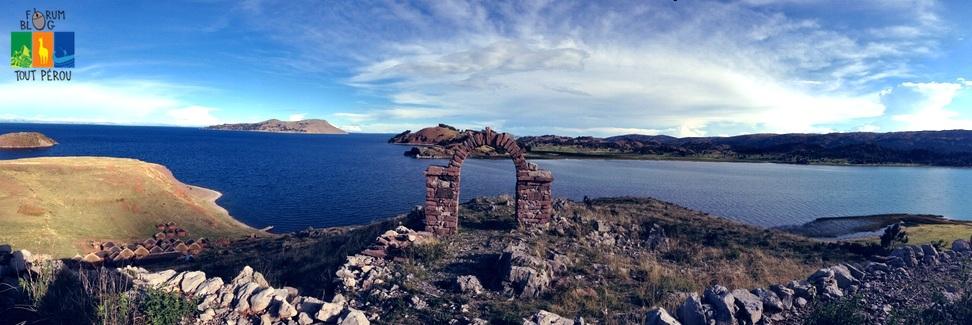 Le lac Titicaca au Pérou