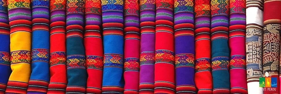 Tapis et soies péruviennes