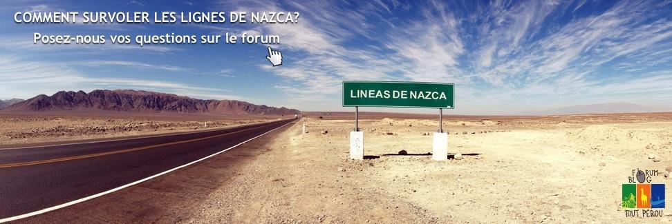 Les lignes de Nazca Perou